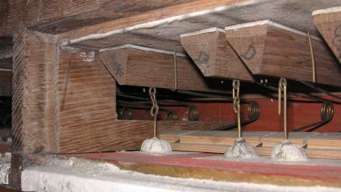 ventil zimbelstern orgel