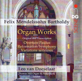 mendelssohn organ works leo van doeselaar