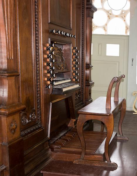 Maarschalkerweerd-orgel Havenkerk Schiedam klaviatuur