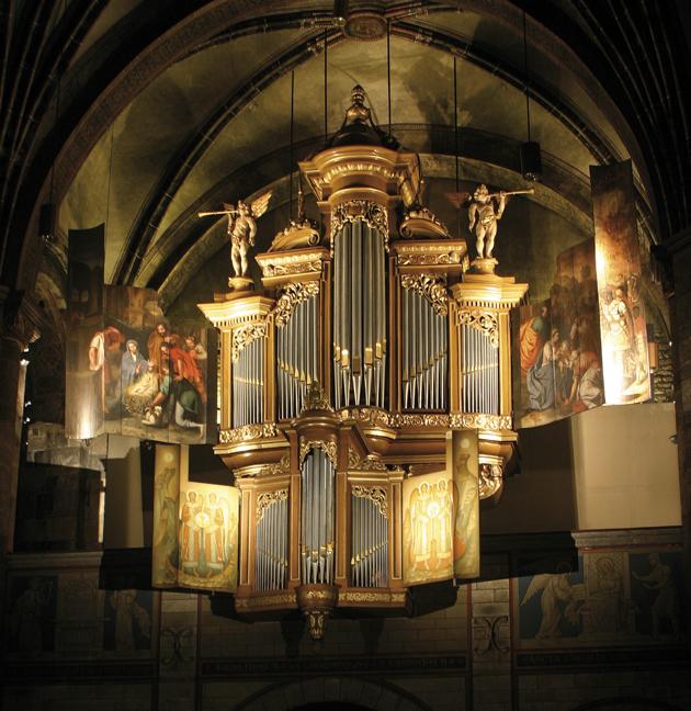 orgel o.l.v.-basiliek maastricht