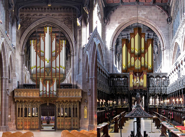 tickell organ manchester cathedral