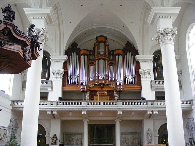 orgel mozes en aäronkerk amsterdam
