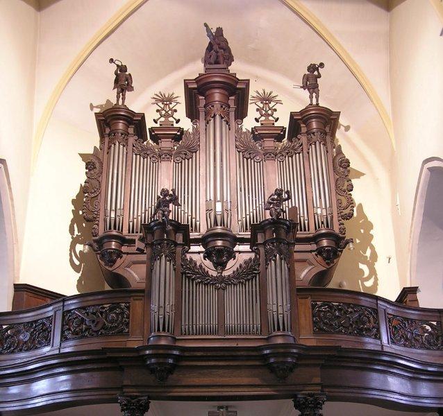 orgel nederweert voor de restauratie