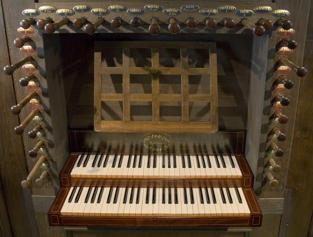 orgel lambertuskerk nederweert klaviatuur
