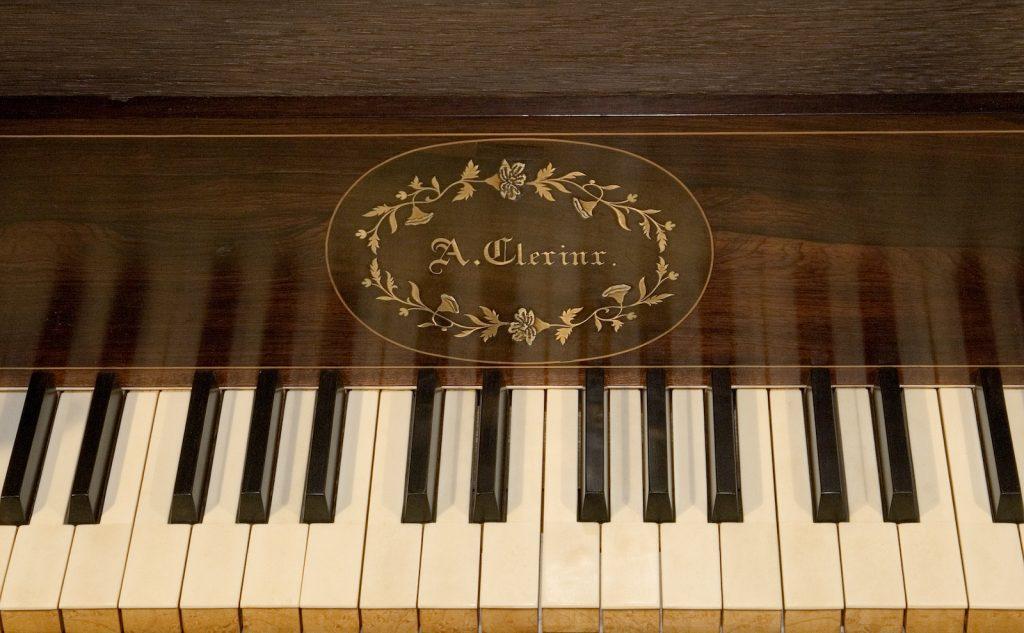orgel lambertuskerk nederweert naamplaat Clerinx