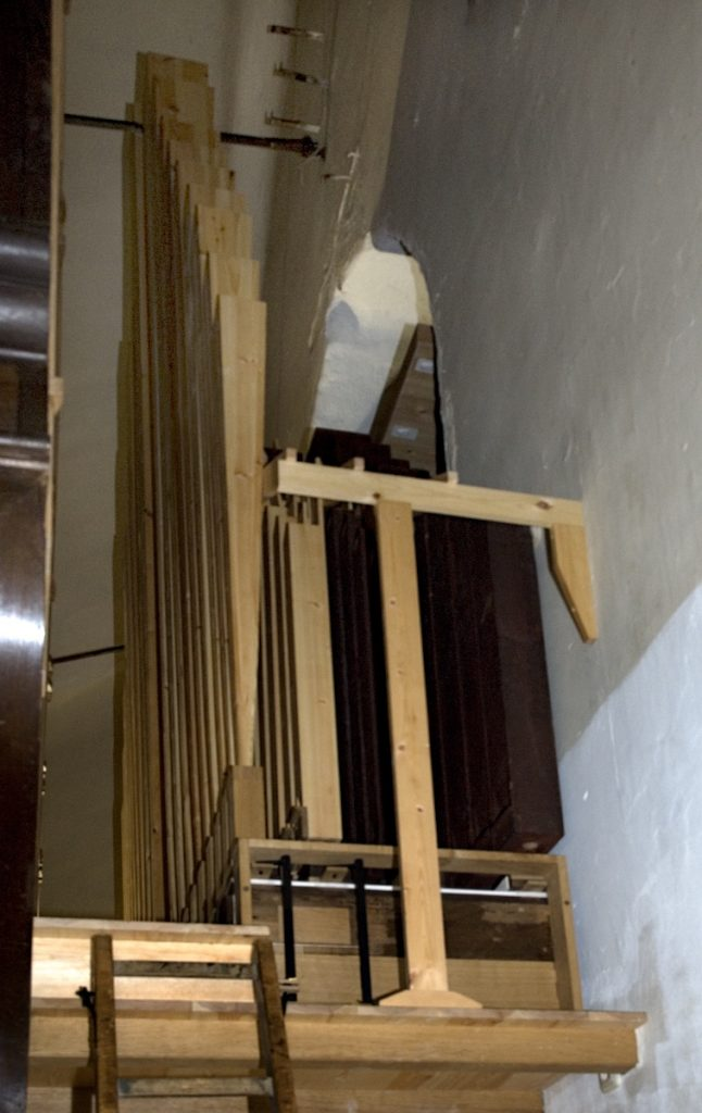 orgel lambertuskerk nederweert pedaalpijpwerk
