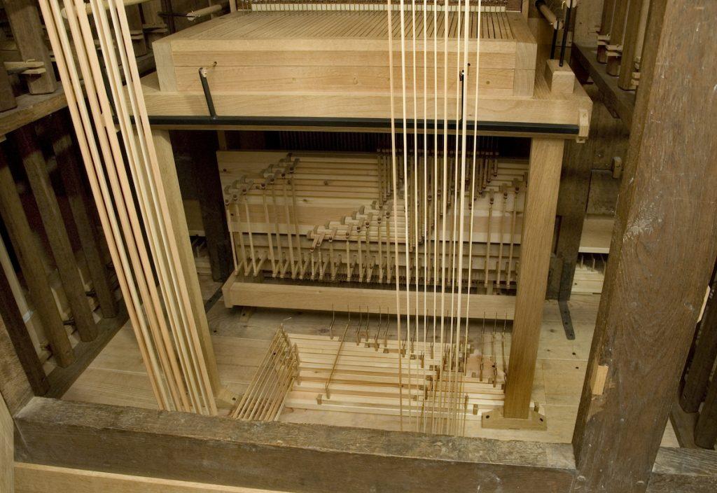 orgel lambertuskerk nederweert pedaalmechaniek