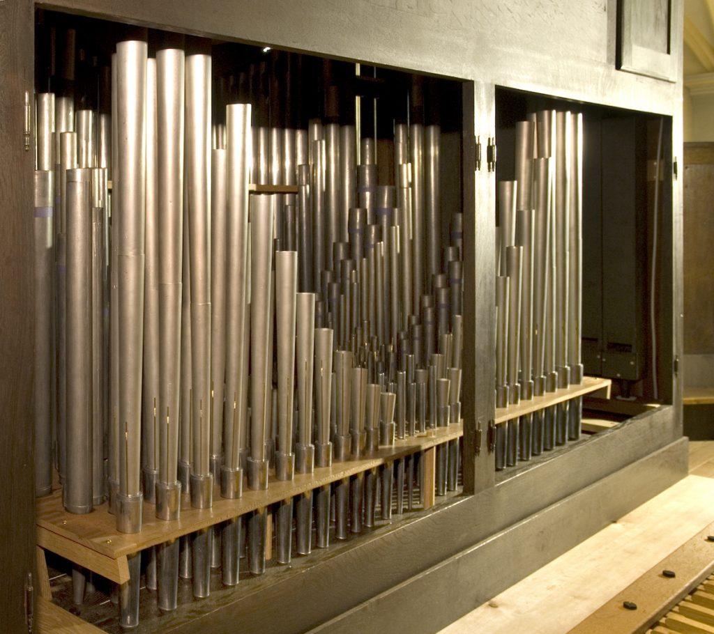 orgel lambertuskerk nederweert pijpwerk positif