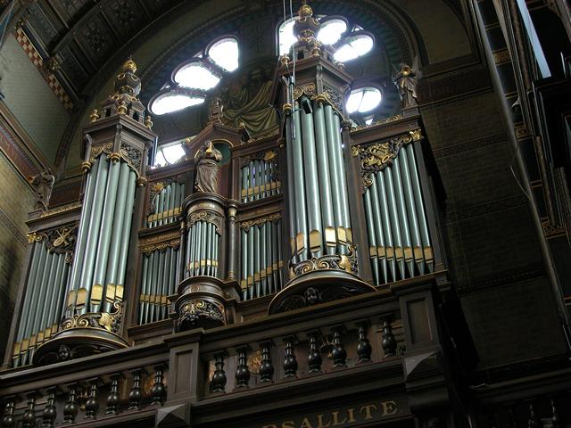 sauer-orgel st. nicolaasbasiliek amsterdam