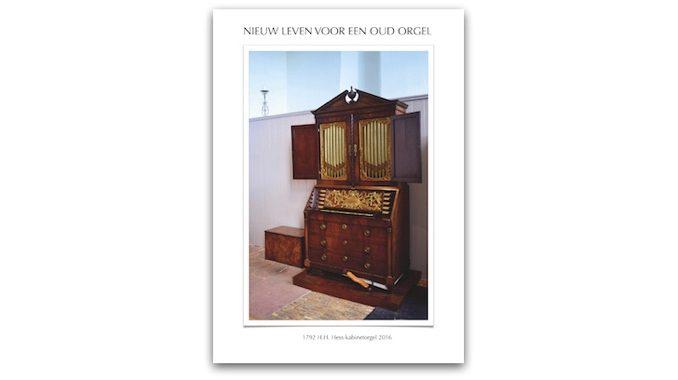 boek Nieuw leven voor een oud orgel