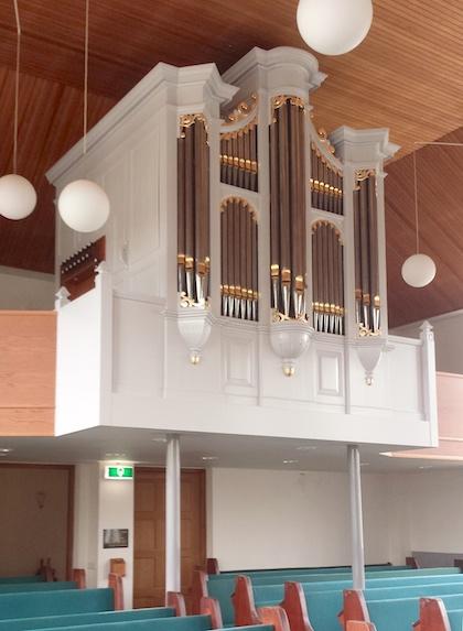 Pels-orgel Gereformeerde Gemeente in Nederland, Nieuwaal