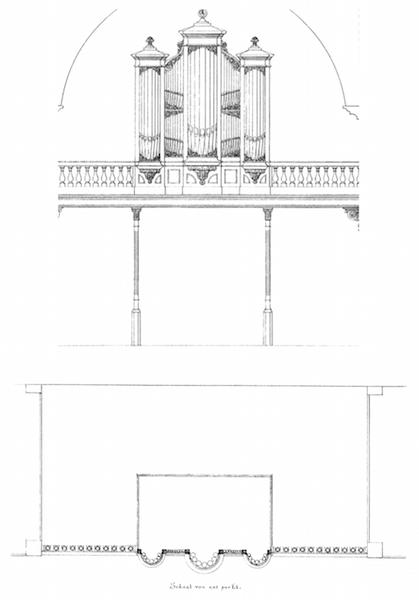 Bätz-orgel Oud-Katholieke St. Vitus Hilversum 1872