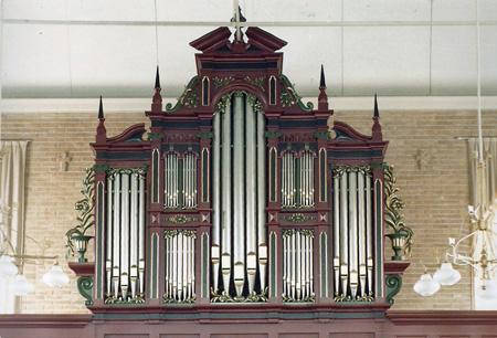 Van Oeckelen-orgel Musselkanaal