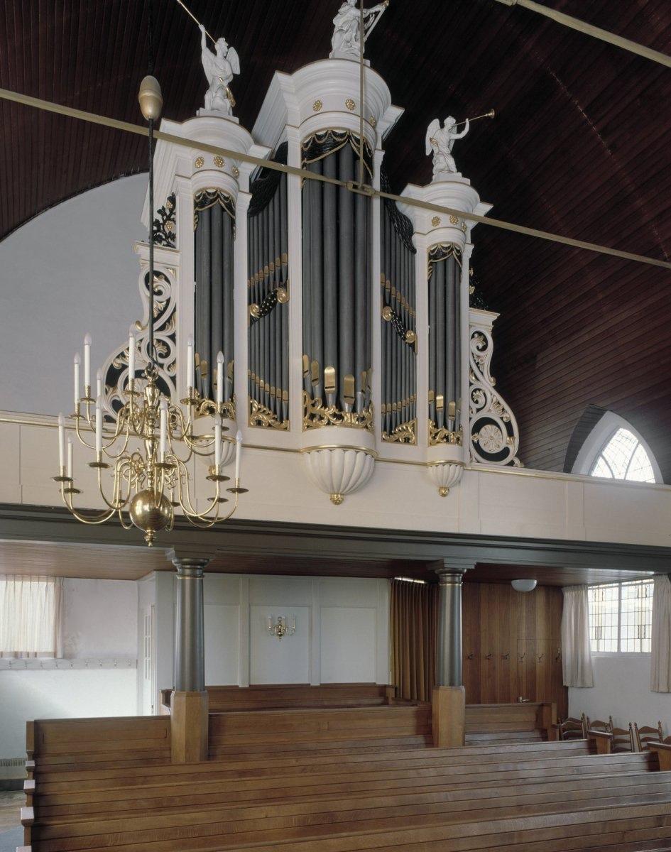 knipscheer orgel ontmoetingskerk nieuwveen