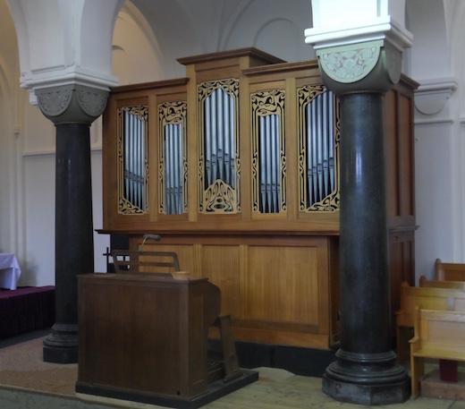 Onze-Lieve-Vrouwekerk Roosendaal koororgel