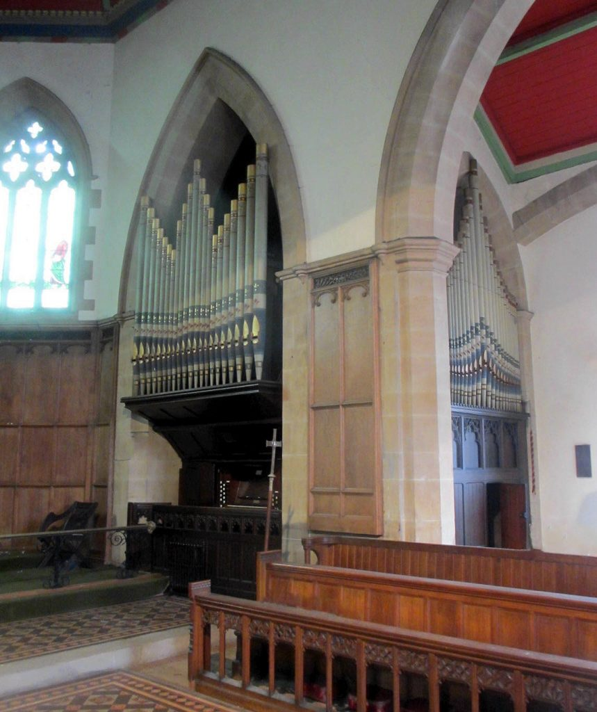 Organ St Peter's Bishop Auckland