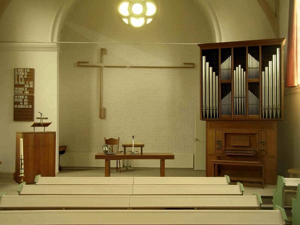 orgel gereformeerde kerk zwammerdam