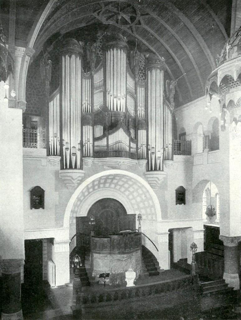 Het Walcker-orgel in de Nieuwe Zuiderkerk te Rotterdam