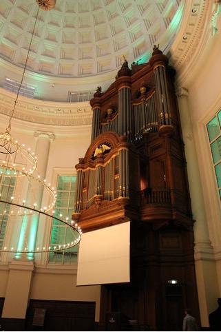Orgel Ronde Lutherse Kerk Amsterdam