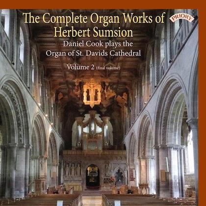 complete organ works of herbert sumsion volume 2