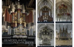 Nu verkrijgbaar: De Nederlandse Orgelkalender 2016