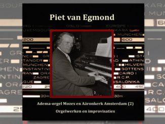 cd piet van egmond mozes en aaronkerk amsterdam