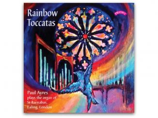 cd Rainbow Toccatas Paul Ayres PRCD 1159