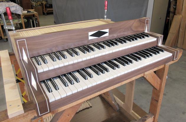 nieuwe klavieren orgel kathedraal roermond