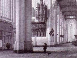 rotterdam laurenskerk transeptorgel ca. 1600
