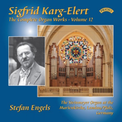 Sigfrid Karg-Elert complete organ works volume 12 prcd 1088