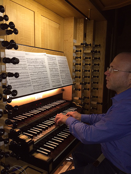 Ivan Sarajishvili Domkirke Stavanger Reil-orgel