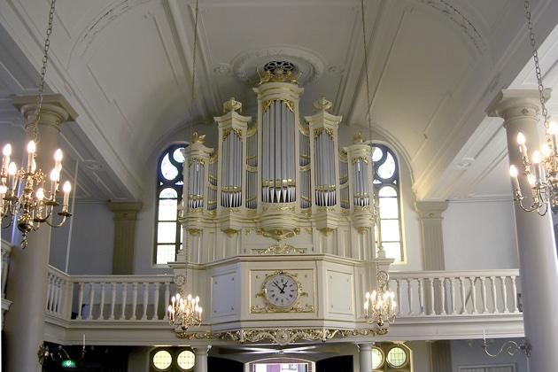 Strobel-orgel Lutherse Kerk Haarlem