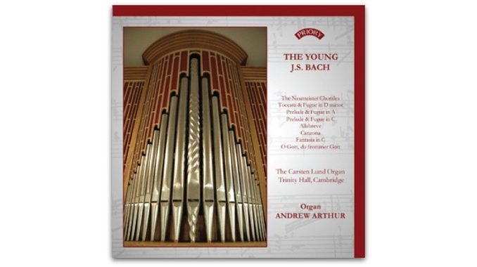 cd PRCD 1176 The Young J.S. Bach Andrew Arthur