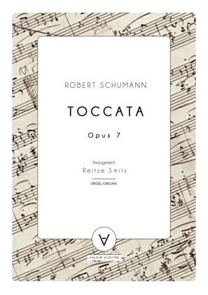 schumann toccata orgel arrangement reitze smits