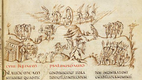 fragment utrechtse psalter