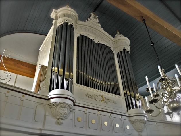 Van Dam-orgel Hervormde Kerk Willige Langerak