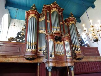 Van Dam-orgel Mariakerk Buitenpost
