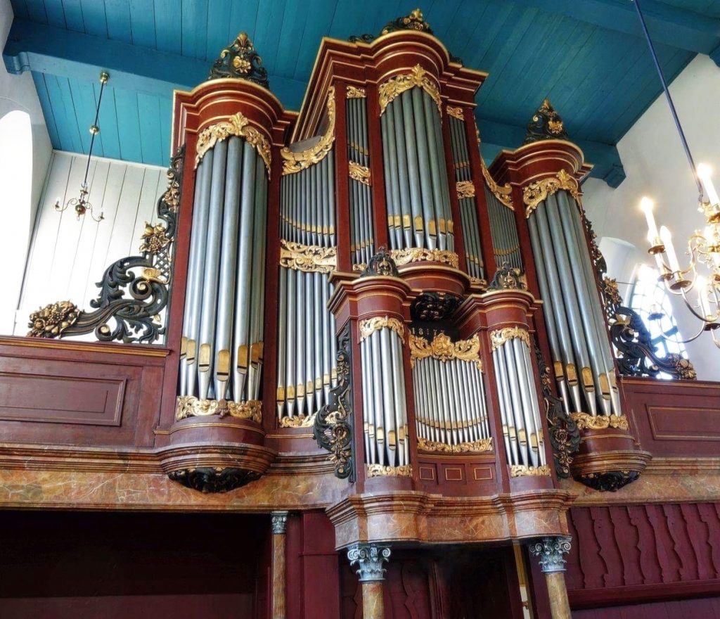 Van Dam-orgel Mariakerk Buitenpost kopie