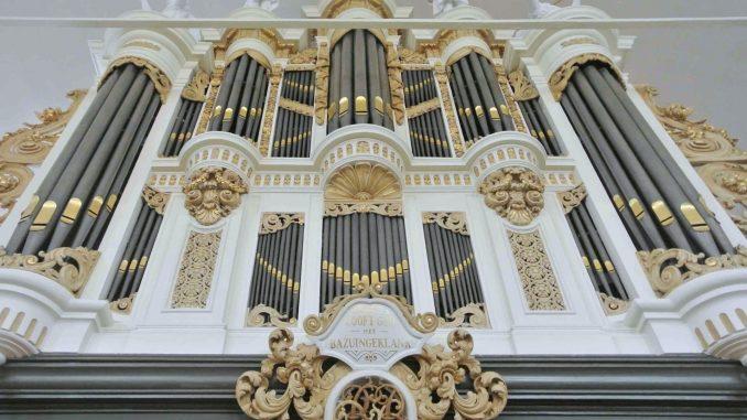 Verhofstadt-orgel Dorpskerk IJsselmuiden