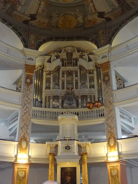Het Trost-orgel in de Stadtkirche 'Zur Gotteshilfe' te Waltershausen
