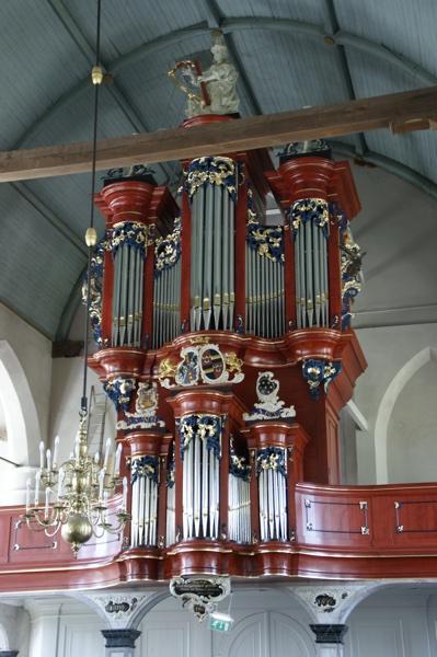 het de crane-orgel in de hervormde kerk te waspik