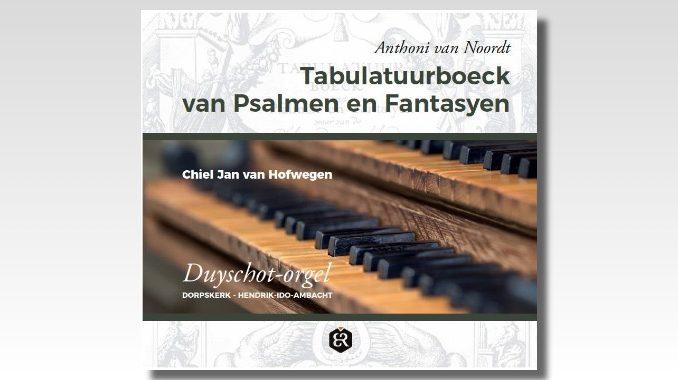 cd anthoni van noordt tabulatuurboeck hofwegen
