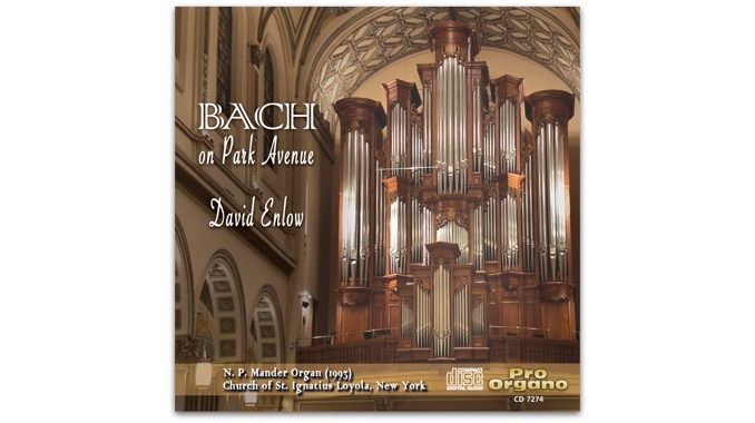 bach on park avenue pro organo cd 7274