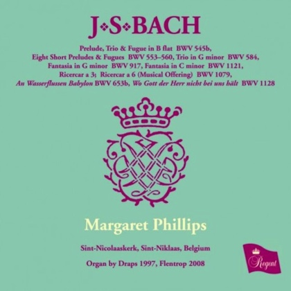 bach organ works vol IX Margaret Phillips REGCD454