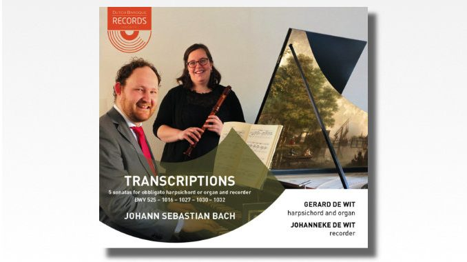 cd bach transcriptions gerard de wit