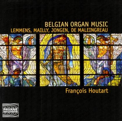 belgian organ music françois houtart ADW 7549