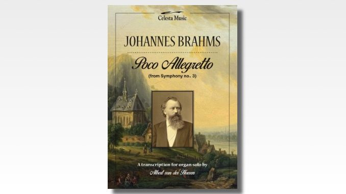 brahms poco allegretto for organ