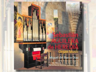 sebastian aguilera de heredia organ music