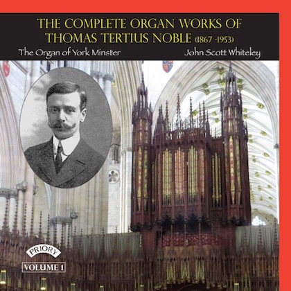 complete organ works thomas tertius noble PRCD 1116