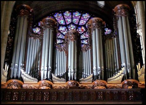 Orgel Notre Dame